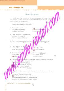 6.Sinif  Turkce Doku Yayinlari Ogrenci Calisma Kitabi Sayfa 62