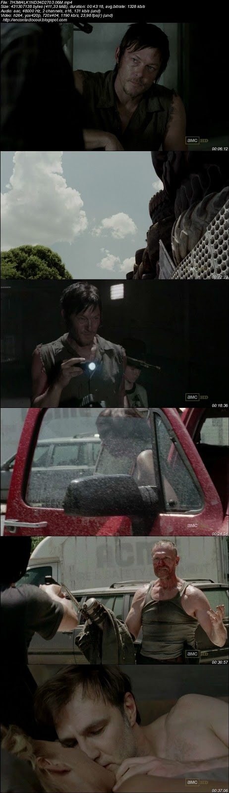 The walking dead 3x06 descargar