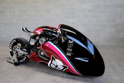 Streemline motorcycle  Plan B Motorcycles