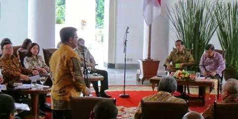 Syahrul Minta Duit Rp 1 Triliun ke Jokowi