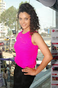 Rey Heroine Saiyami Kher Photos in Pink Top-thumbnail-1