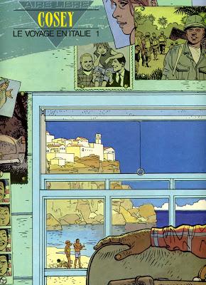 Le Voyage en Italie 01 & 02 . Cosey.