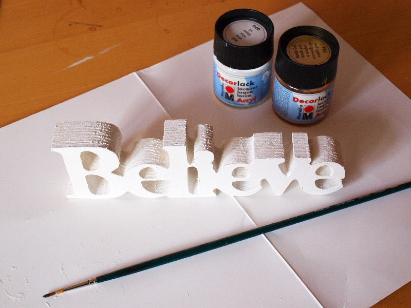 DIY wooden word art by momentstolivefor