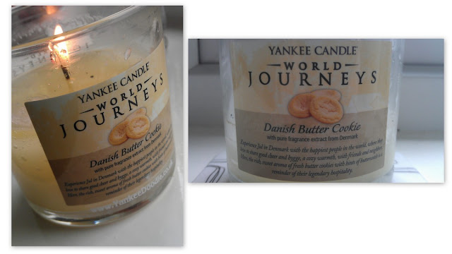 Yankee Candle 'Danish Butter Cookie'