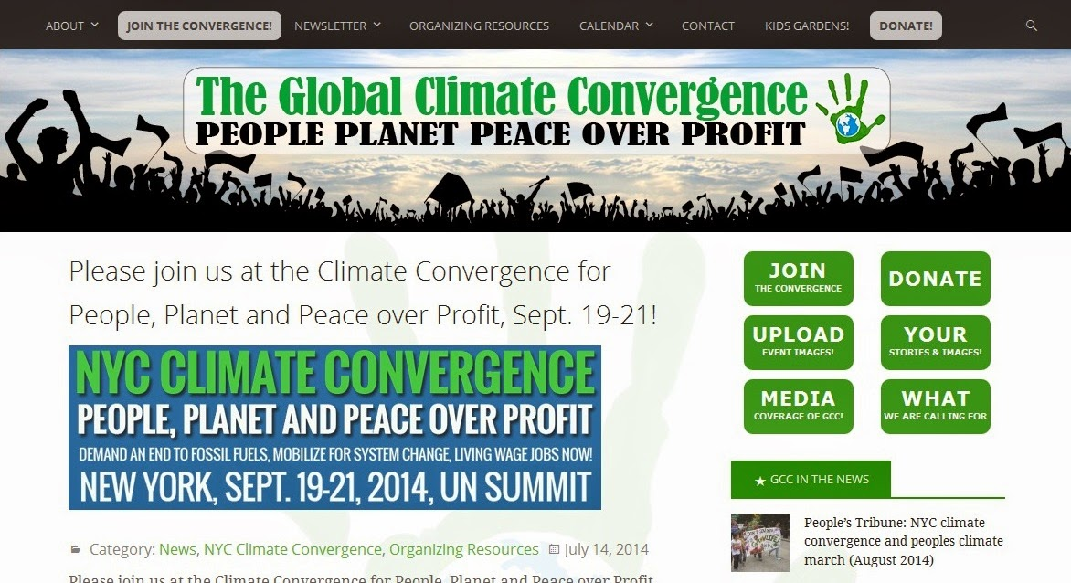 Global Climate Convergence.