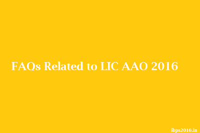 Related to LIC AAO 2016
