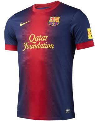 FC Barcelona camiseta 2012 2013