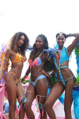 Jourdan Dunn in Barbados