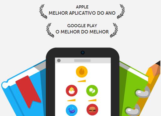 Duolingo - Melhor aplicativo de 2013 na Apple Store e Google Play