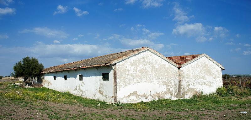 Antiguos barracones en la actualidad