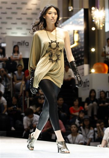 Asian Fashion And Style Clothes In 2012 Malaysian Fashion