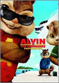 Alvin e os Esquilos 3 – Inglês 2011