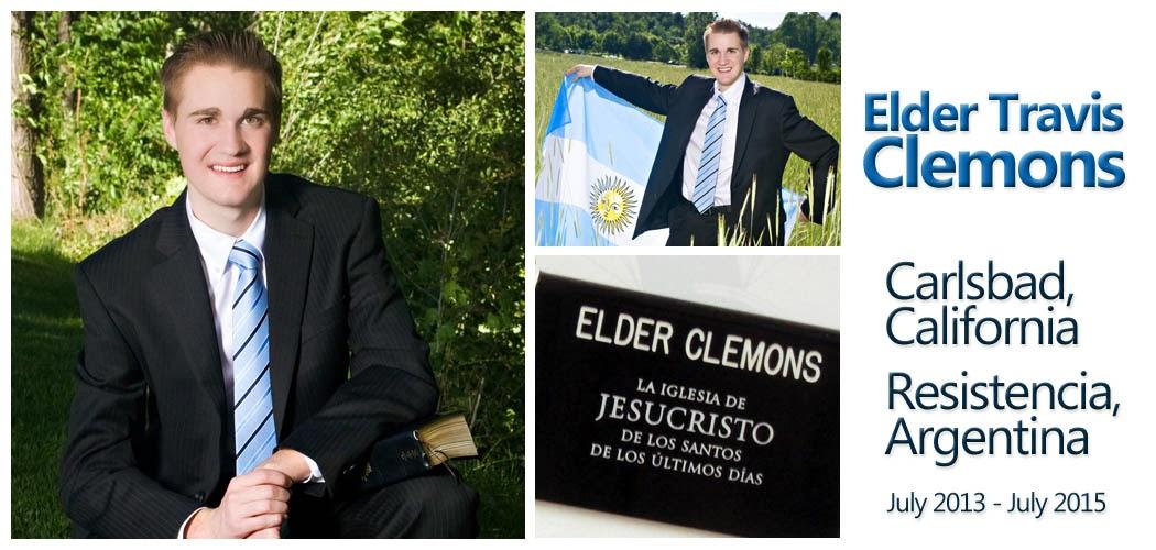 Elder Travis Clemons- Resistencia, Argentina Mission
