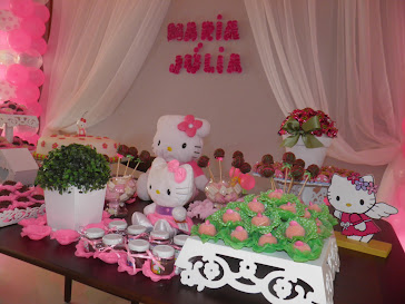 Festa Hello Kitty da Maria Julia