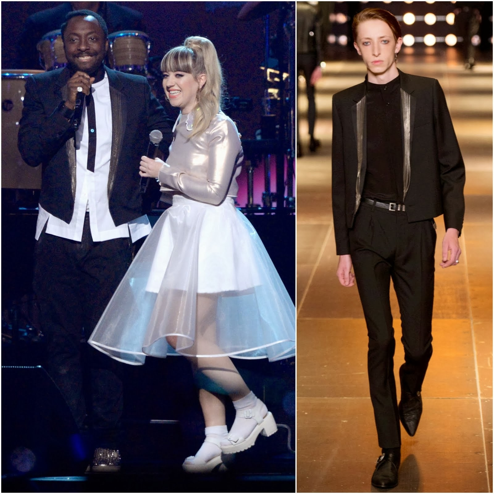 Will.i.am in Saint Laurent - 2014 MusiCares Person Of The Year Gala Honoring Carole King