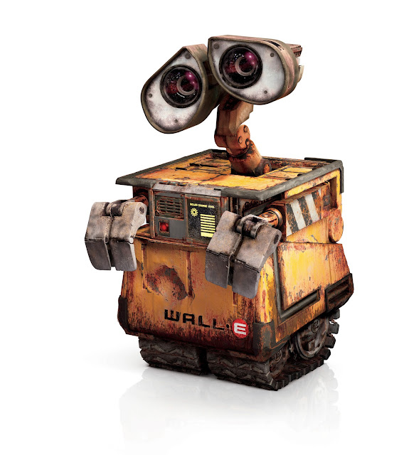 WALL-E from the Pixar film.