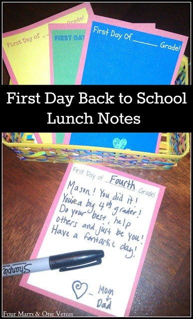 free lunch note printable