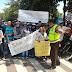 Ratusan Pedagang HI TECH MALL Gelar Aksi Unjuk Rasa