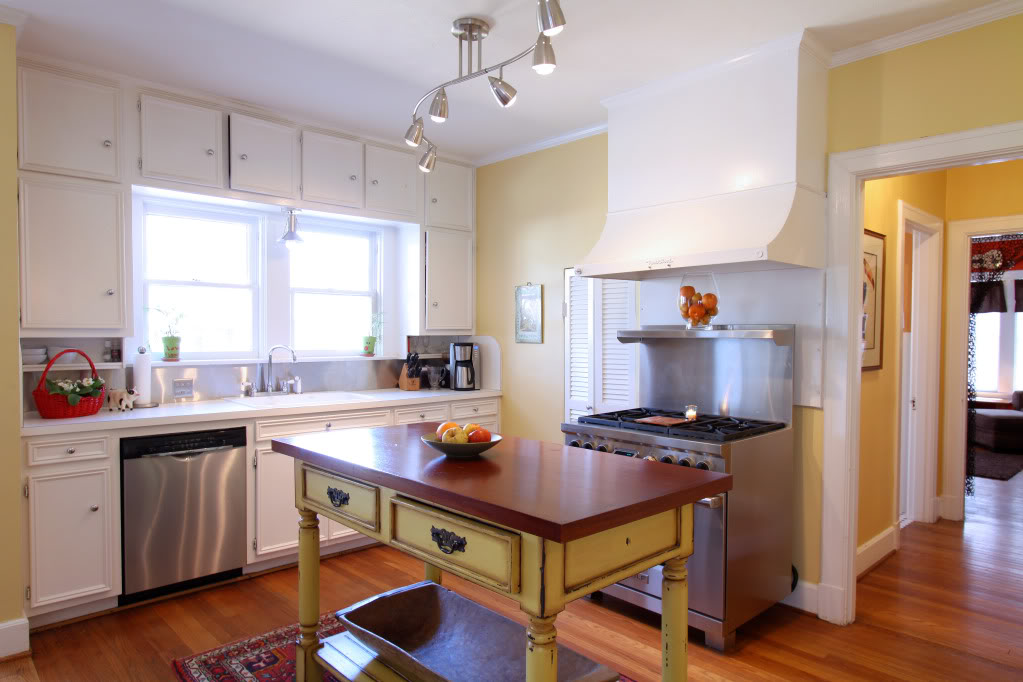Cheap kitchen redecorating ideas archives simply trini cooking - Portable islands for small kitchens ...