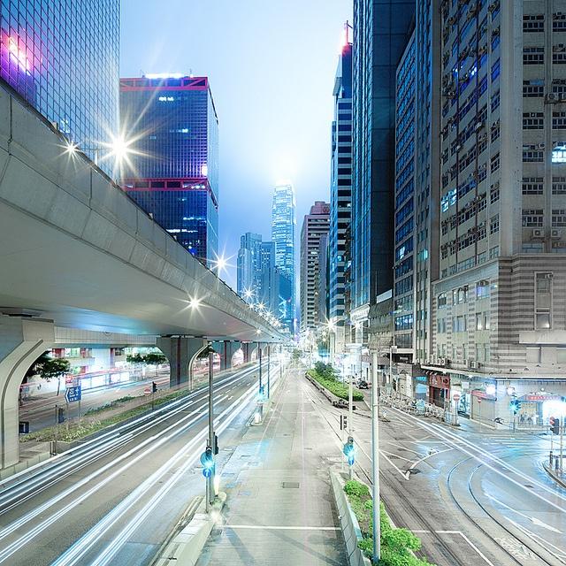 Doctor Ojiplatico. Jens Fersterra. Hong Kong Cityscapes