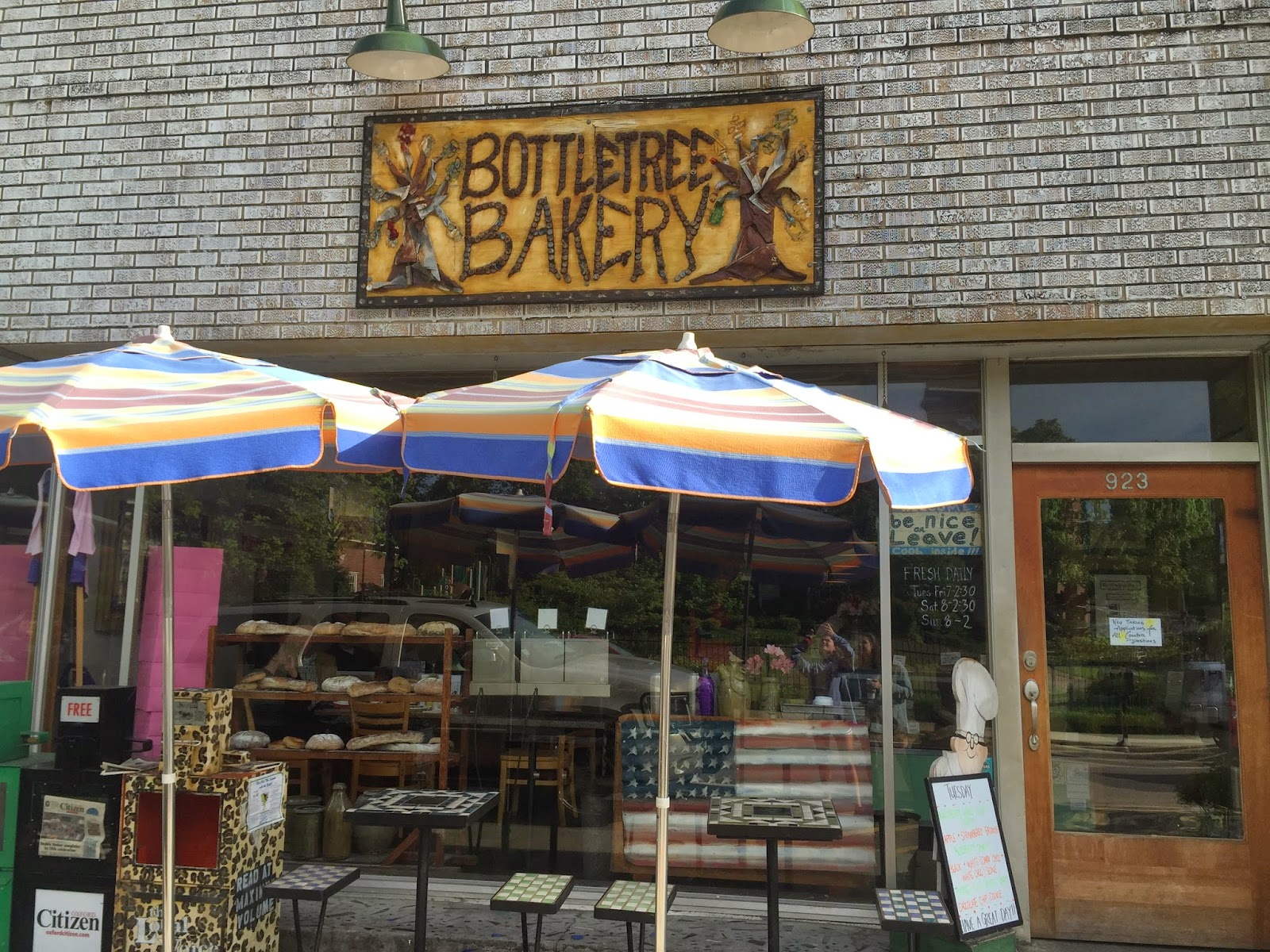 Bottletree Bakery Oxford Mississippi Anchors and Pearls