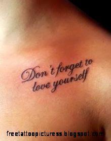 Word Tattoos on Pinterest