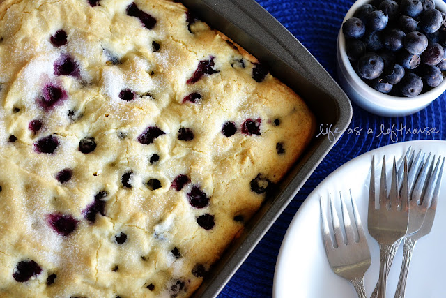blueberry cake Too Five Fruity Christmas Breakfast Ideas