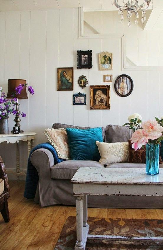 sofa gris funda ikea