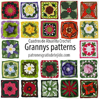 patrones crochet de cuadros de la abuela