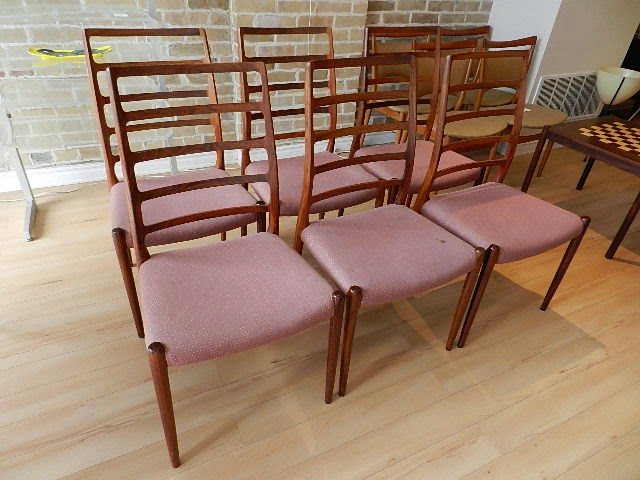 Rosewood Chairs By Niels Moller   Sold