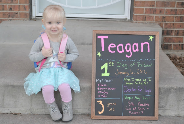 Back to school chalkboard, easy back to school sign, cute back to school picture, first day of school chalkboard sign, easy first day of school sign, first day of school picture ideas, DIY first day of school pictures