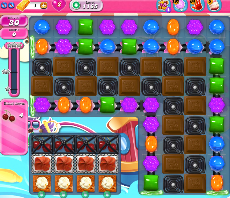 Candy Crush Saga 1165