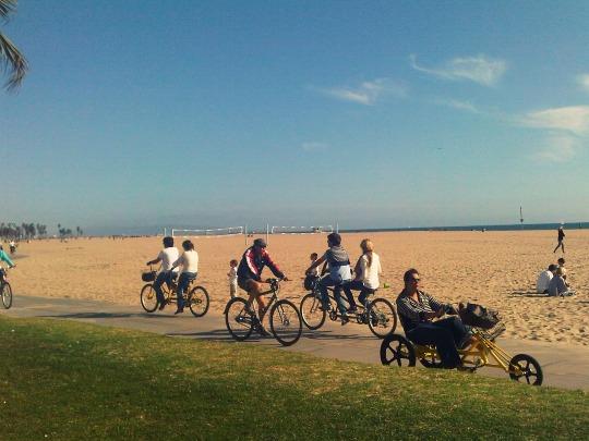 Venice Beach Bike Culture