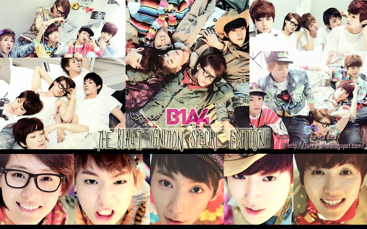 kane blog picz: B1a4 Wallpaper Ignition