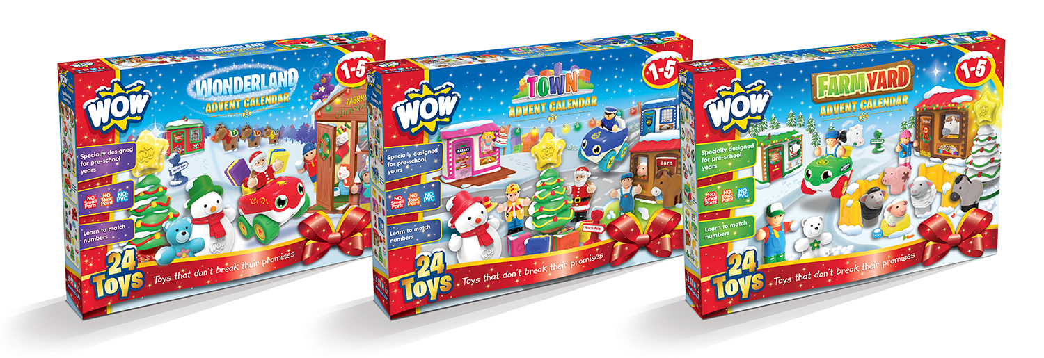 review wow toys advent calendars. Black Bedroom Furniture Sets. Home Design Ideas