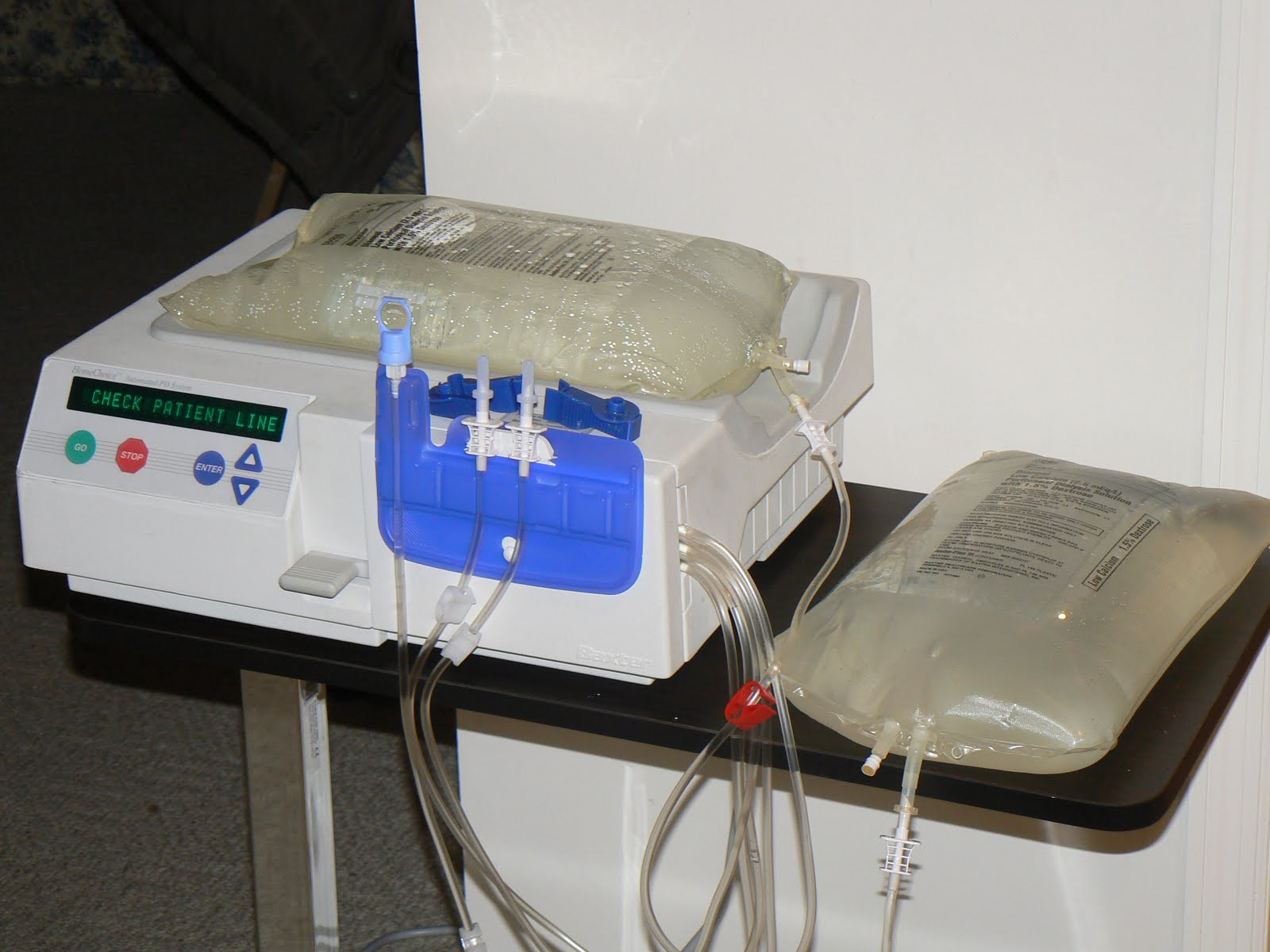 peritoneal dialysis machine baxter