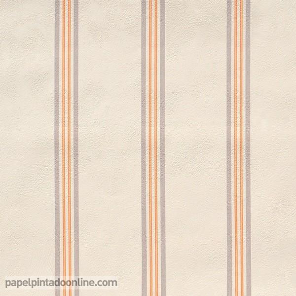 Papel pintado papel pintado barato for Papel pintado rayas barato