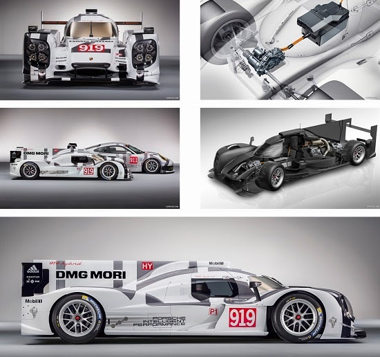 Porsche 919 Hybrid Theme For Windows 7 And 8.1