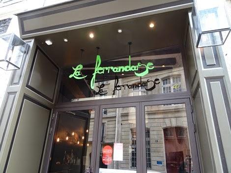 Bistrot auvergnat La Ferrandaise Paris 6 ème.