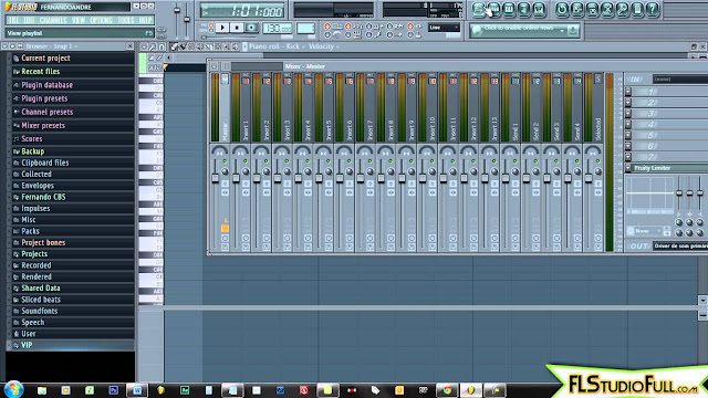 Primeiros passos no FL Studio 11 - Conhecendo a Interface de Trabalho (#1)
