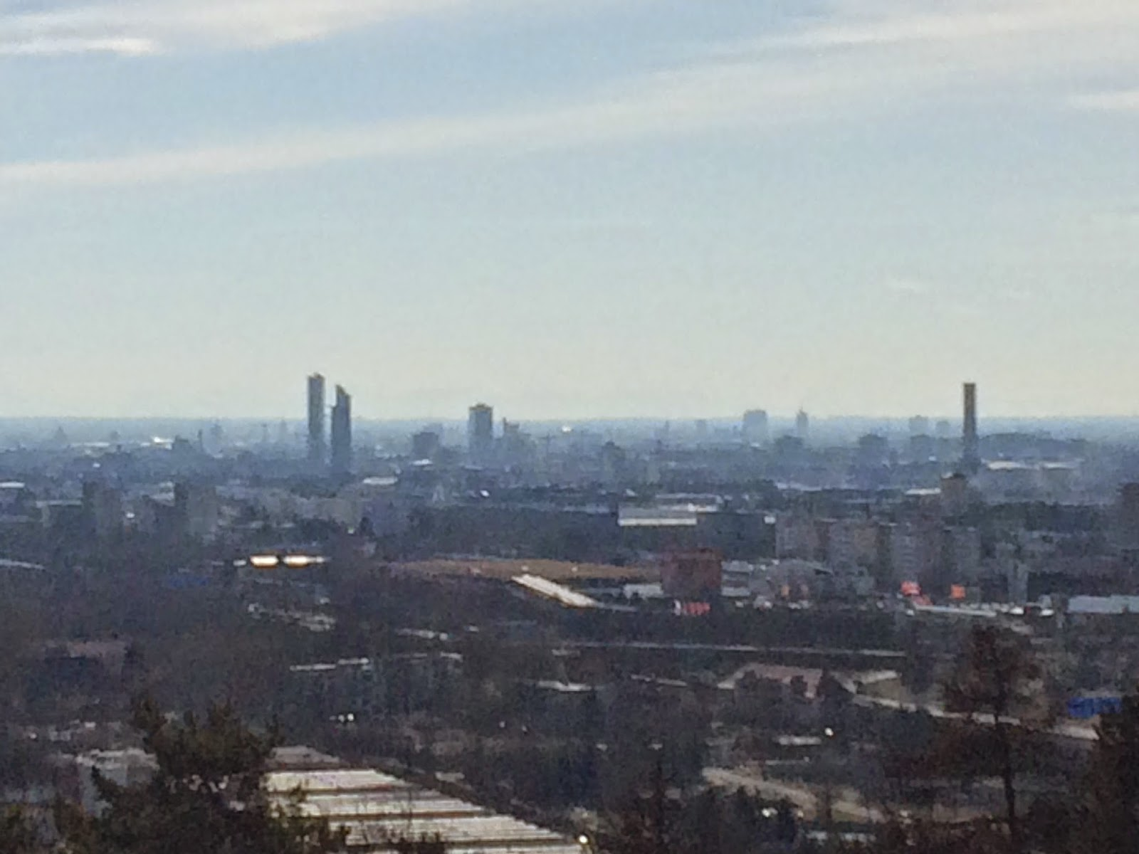Blick auf München vom Müllberg