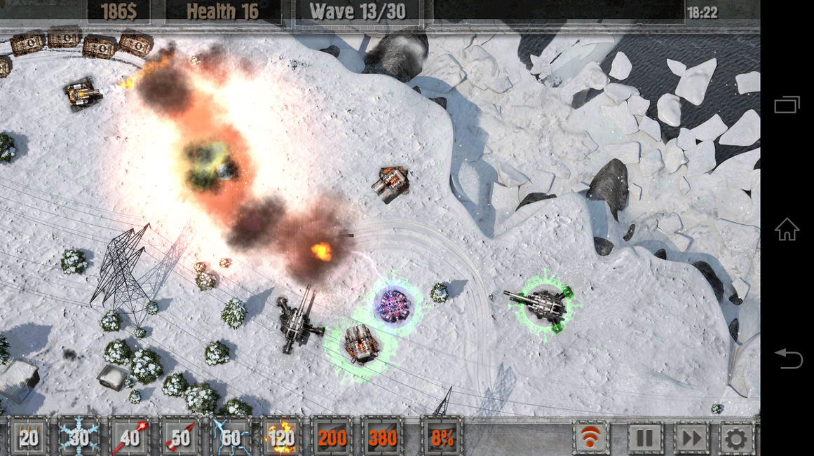 Defense zone 2 HD Lite - Android Game