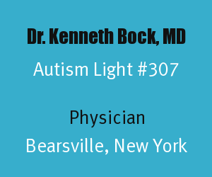 Article Header for Dr. Kenneth Bock Autism Light Number 307