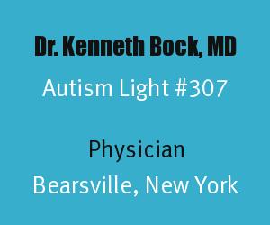 Article Header for Dr. Kenneth Bock Autism Light Number 307