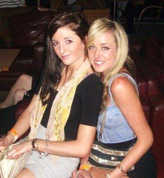 My ex-flatmate Rebecca :)