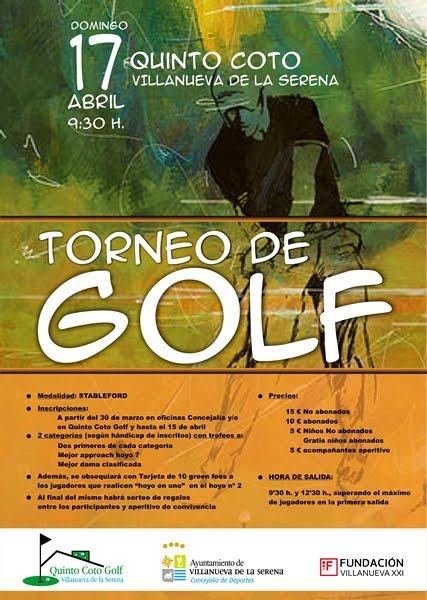 Torneo de Golf Quinto Coto