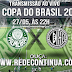 PALMEIRAS x ASA/AL - Copa do Brasil - 27/05/15
