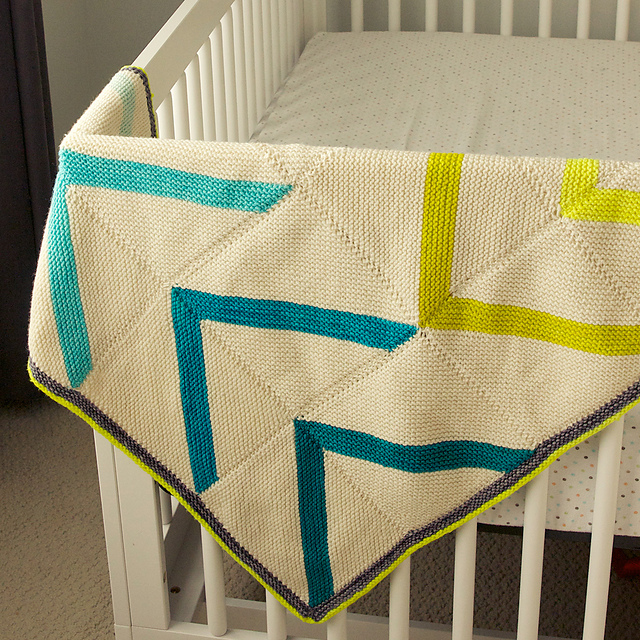 The Knitting Needle And The Damage Done Baby Blanket Bonanza A