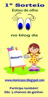 """Concurso """"Estou de olho no Blog da Monicart's"""""""