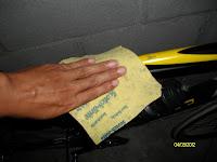 การทำความสะอาดจักรยาน